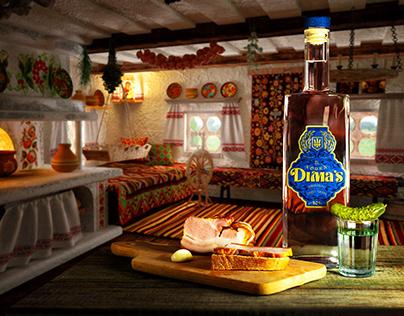 """Vodka """"Dima's"""" project"""