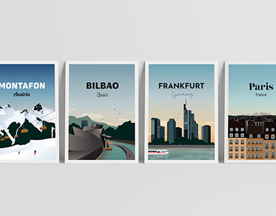 'Travel Poster'-Series