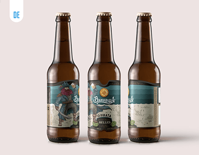 Design de Rótulo - Cerveja Barbarossa