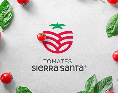 Tomates Sierra Santa - Identidad de Marca