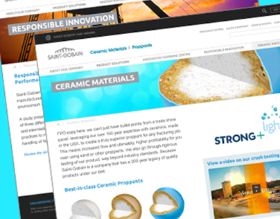Proppants Website Redesign