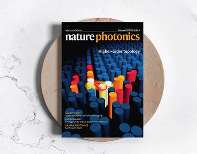 Обложка для Nature Photonics. США, Великобритания