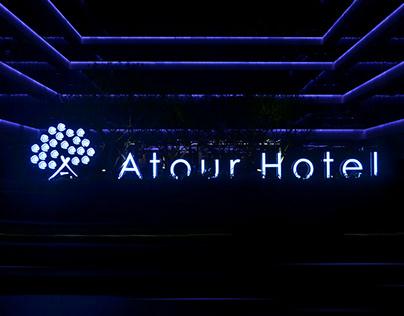 Atour Hotel Signage Design