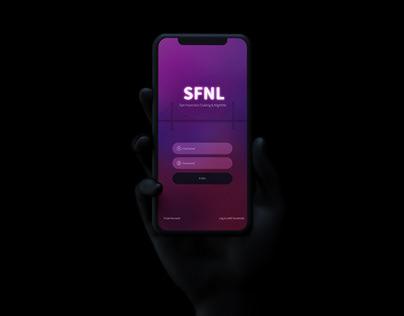 SFNL San Francisco Night Life | Mobile App Design