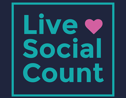 Live Social Count - Live Facebook Reaction Counter