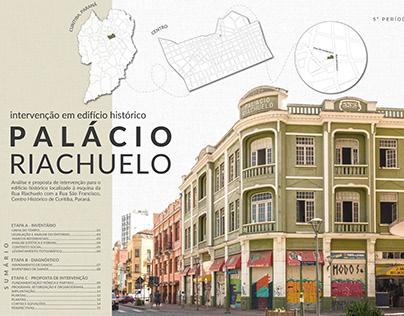Palácio Riachuelo - Intervenção em Edifício Histórico