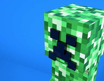 Creeper in 3D