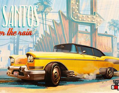 Visit Los Santos after the rain