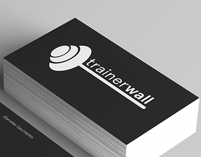 Logo design for Trainerwall