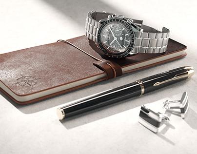 Free Wristwatch 3D Model