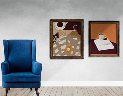 """""""COFFEE TIME"""" Series Of Illustrations"""