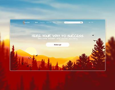 Website for AWAKE