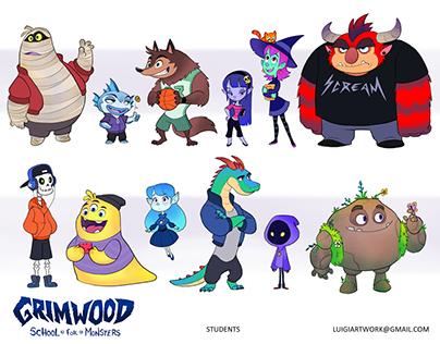 Grimwood - School for Monsters