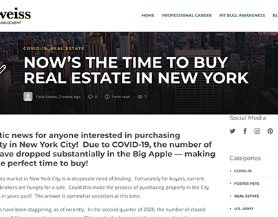 Now's The Time to Buy Real Estate in New York - Blog