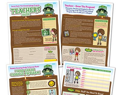 Print - 3rd Grade Cabbage Program Bonnie Plants Fliers