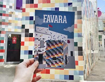 Map Favara - Farm Cultural Park