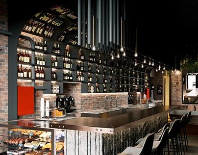 Wine cellar by VI interiors