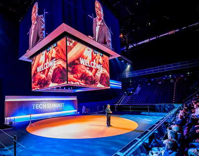 Stage Design, TechSummit 2019 by Liberty Global