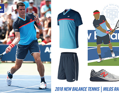 New Balance Tennis/Milos Raonic 2018 US Open Kit