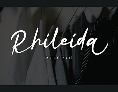Rhileida – Script Font