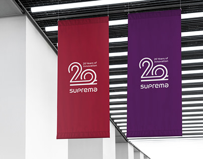 SUPREMA 20th Anniversary Emblem