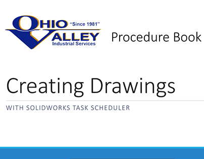 Procedure Books - Ohio Valley Industrial Services