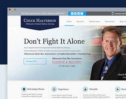 Halverson Website Redesign