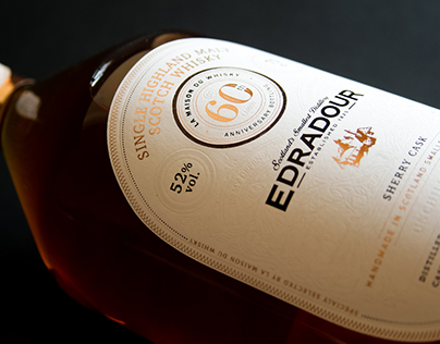 Edradour Whisky - Concept bottle