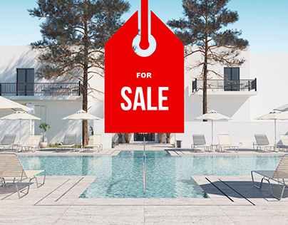 Hotel - 3D Sale Scene