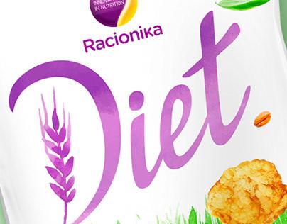"Design concept of high-protein chips ""Diet"""