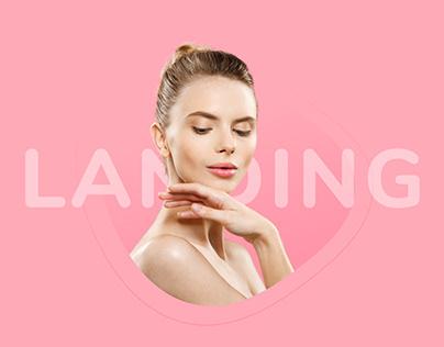 Landing page для косметологической клиники Beauty Med