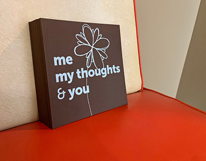 me my thoughts & you book