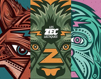 Festival Poster : les Z'Eclectiques