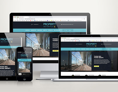 Property Auction- Branding and Website