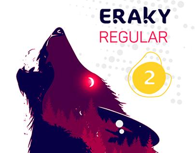 ERAKY Typeface
