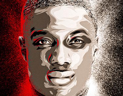Mamadou Samassa - Sports Illustration