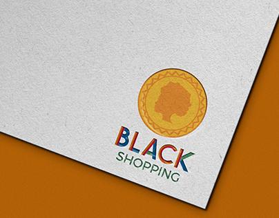 Identidade Visual - Black Shopping