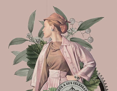 Jay_Collage - Vintage fashion collages