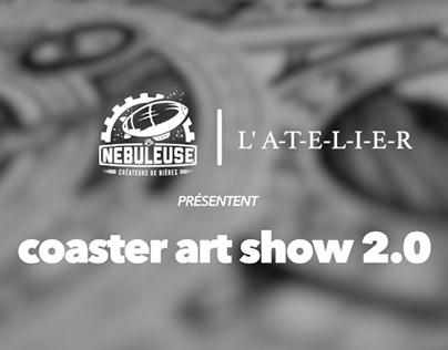 Coaster art show 2.0