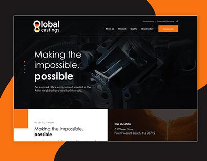 Global Casting- WooCommerce Based Store