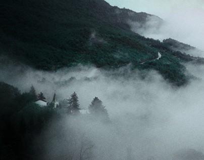 Dark Fog Landscape