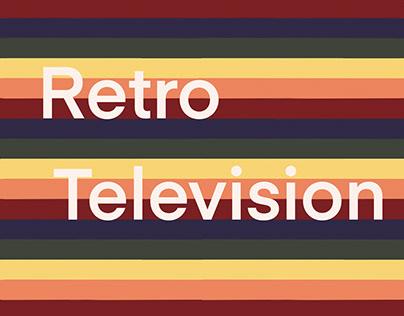 Retro Television design collection