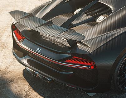 Bugatti Chiron / Cgi & Retouching