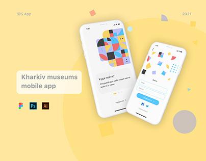 Mobile app for Kharkiv Museums