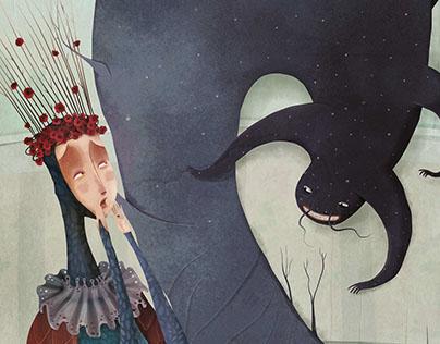 """Ilustrando """"De ovejas y príncipes..."""""""