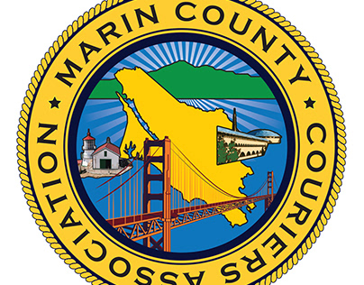 Marin County Couriers Association Logo