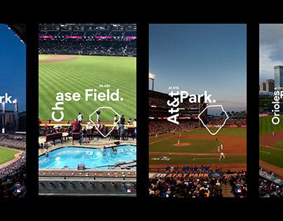 BRANDING • New campaign for MLB / All 30 Ballparks.