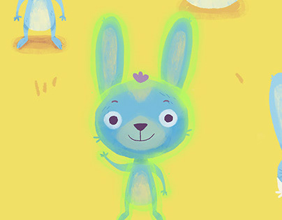 Rumi Rabbit — Character Illustration and Animation