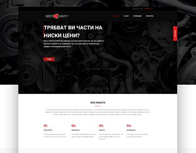 Moitechasti.bg website