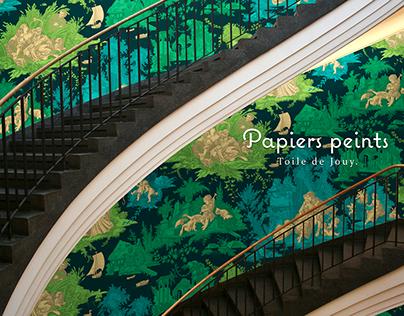 Bel-Évent Catalogue papier peint